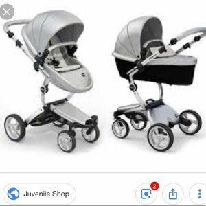Other - Mima Xari Aluminum Chassis Stroller in Argento
